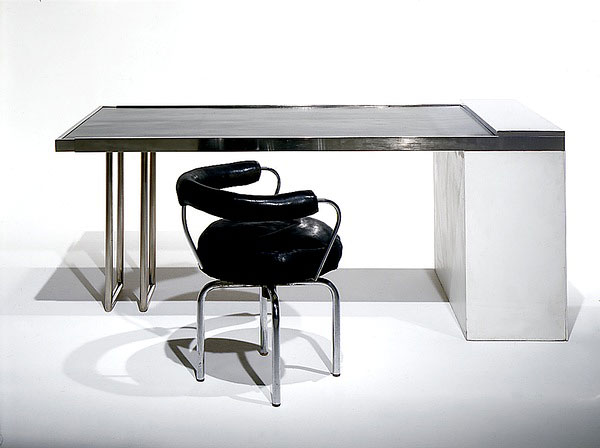 1927_ table extensible by charlotte perriand and swivel chair B302 ...