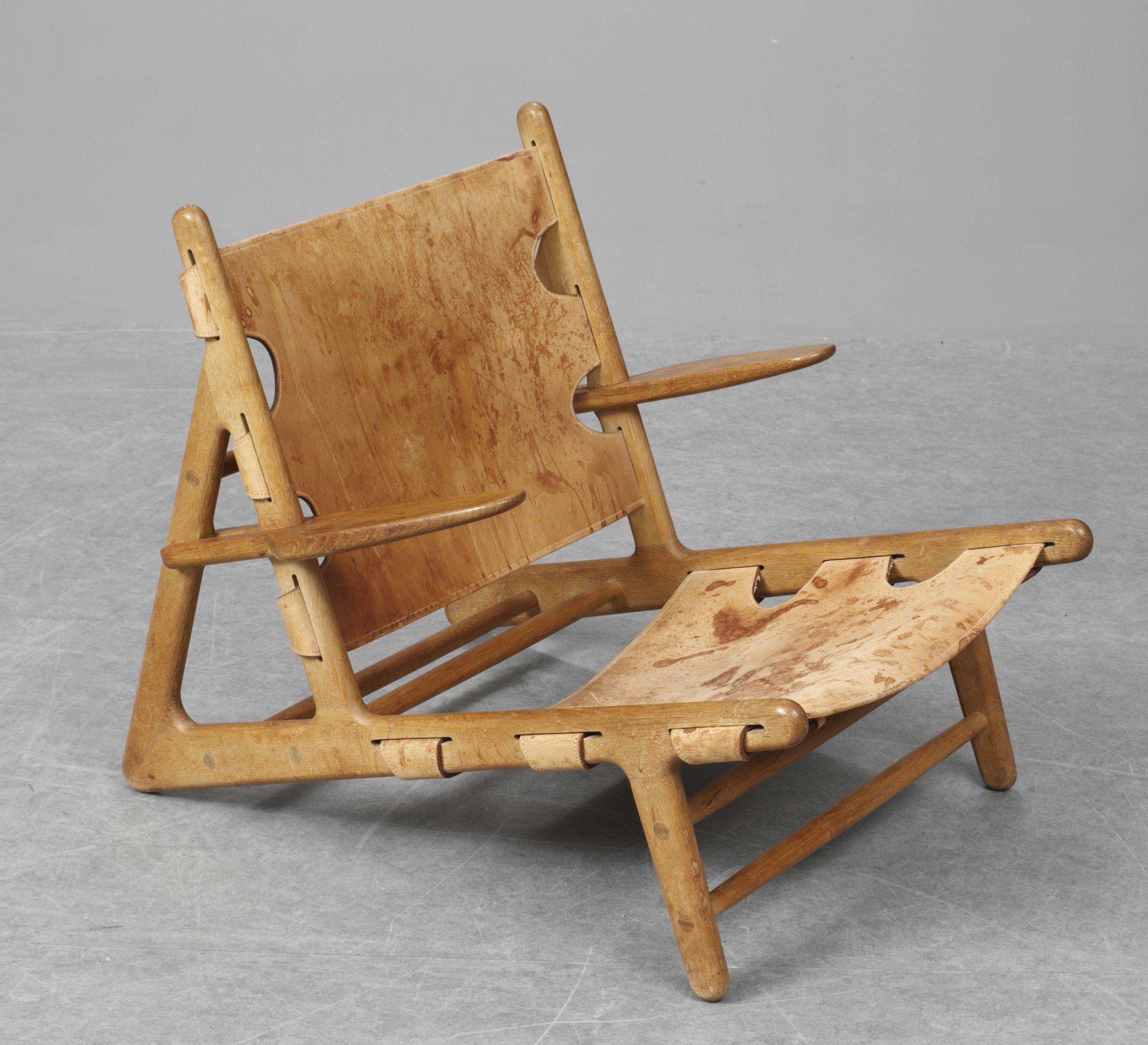 1950 hunting chair by B¸rge Mogensen made by Erhard Rasmussen
