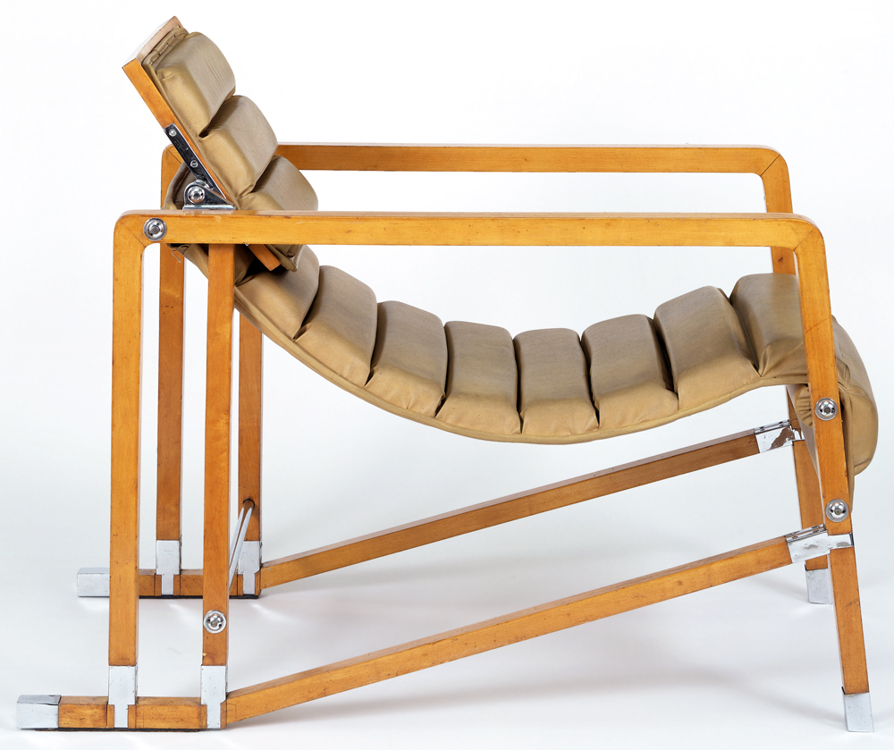 Eileen gray mdba for Chaise longue ou transat