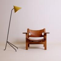 221-borge-mogensen-spanish-chair-2226-frederica-denmark-fifties-leather-furniture-vintage-1