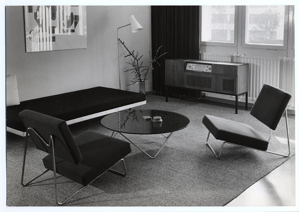 herbert hirche mdba. Black Bedroom Furniture Sets. Home Design Ideas