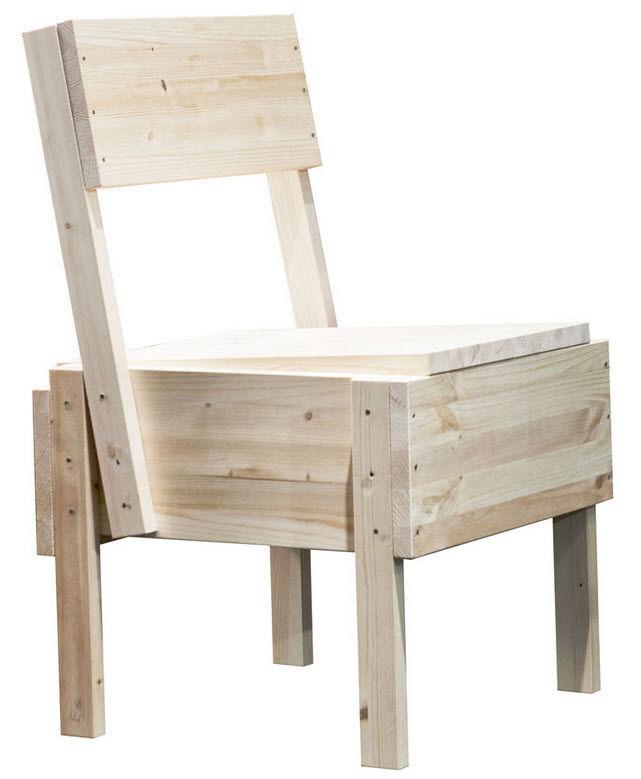 1974 sedia 1 chair by enzo mari for artek mdba