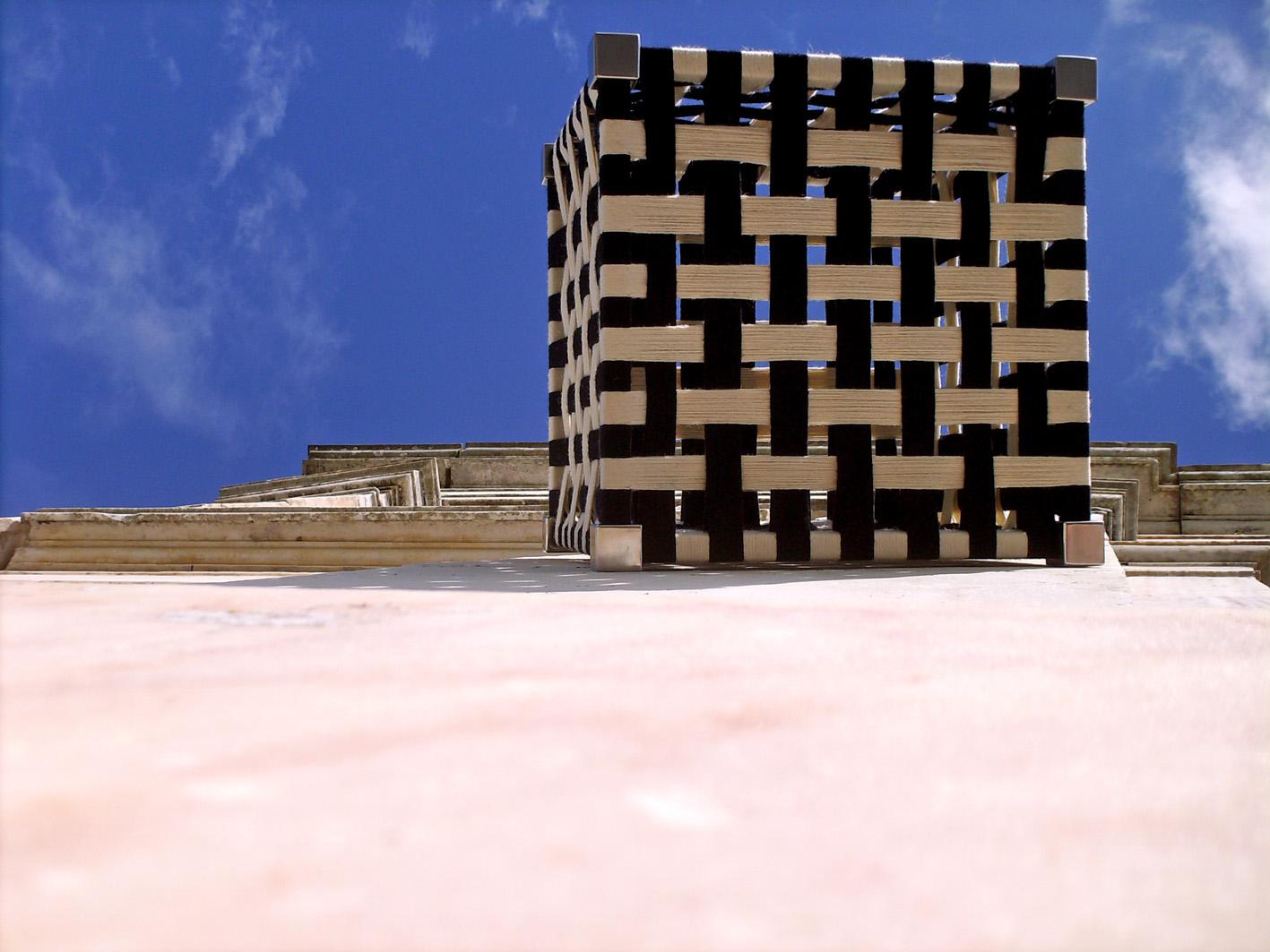 ÀGUA DE PRATA-stainless steel wool cube