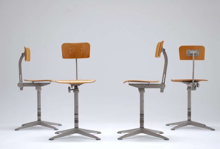 Exceptionnel 1964_ Architect Chairs By Friso Kramer