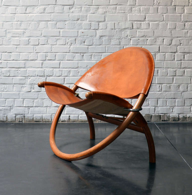 1976 'circle' chair by Jorgen Hovelskov