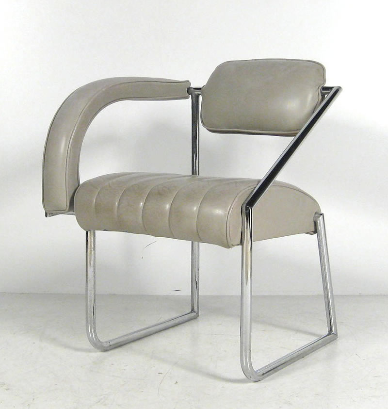 1926 Non Conformist Armchair Designed By Eileen Gray Mdba