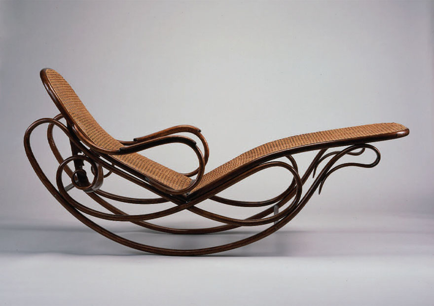 1880_ Rocking Chair By Michael Thonet