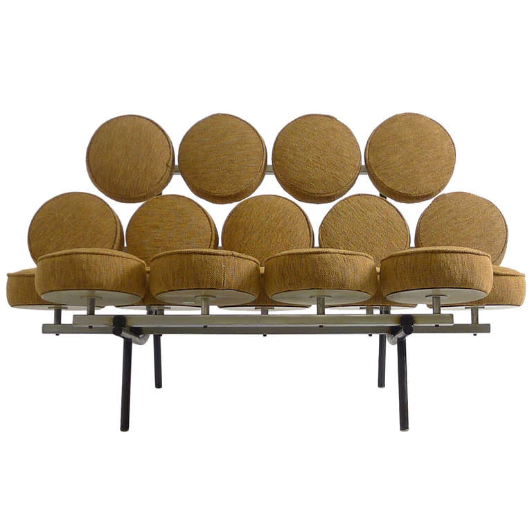 1956 Marshmallow Sofa By George Nelson Irving Harper